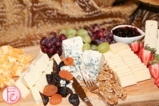 cheese board at crown royal 75th anniversary limited edition the national club